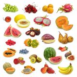 Mixed Fruits Collection Royalty Free Stock Photo