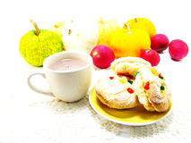 Mixed fruits cookies Royalty Free Stock Images