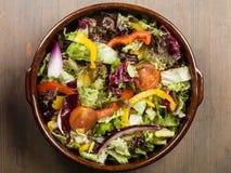 Free Mixed Garden Salad Royalty Free Stock Photos - 84280008