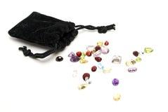 Mixed Gemstones Stock Image
