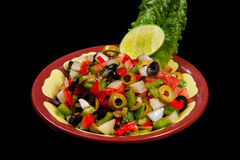 Mixed Green Salad Royalty Free Stock Image