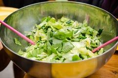 Mixed greens salad Stock Image