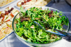 Mixed greens salad Stock Images