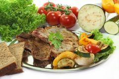 Mixed grill Royalty Free Stock Photos