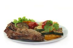 Mixed grill Stock Images
