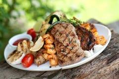 Mixed grill Stock Photos