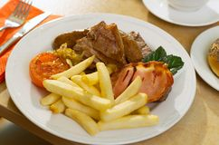 Mixed Grill Royalty Free Stock Images