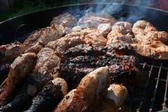 Mixed grill 2 Stock Photos