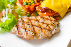 Free Mixed Grill Meat Stock Photo - 38032770