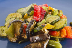 Mixed grilled vegetables Stock Photo