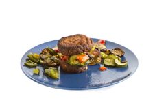 Mixed grilled vegetables Royalty Free Stock Photo