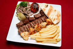 Free Mixed Grills Royalty Free Stock Image - 21052106