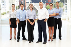 Mixed group of business people royalty free stock images