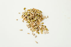 Mixed healthy seeds Royalty Free Stock Images