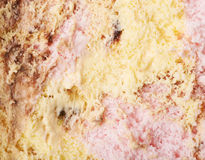 Mixed ice cream texture Stock Photography