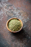 Mixed Italian Herbs Seasoning Stock Image