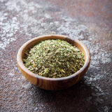 Mixed Italian Herbs Seasoning Royalty Free Stock Photos