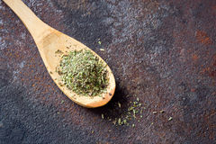Mixed Italian Herbs Seasoning Stock Photo