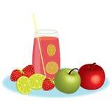 Mixed juice Royalty Free Stock Photo