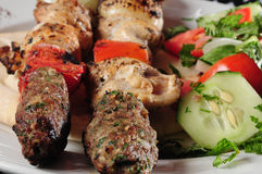 Mixed kebab Stock Photos