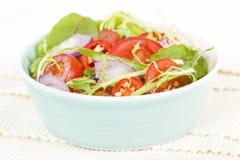 Mixed Leaf & Vegetable Summer Salad Royalty Free Stock Photos