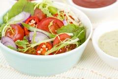 Mixed Leaf & Vegetable Summer Salad Stock Image