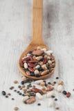 Mixed legumes Stock Photo