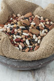 Mixed legumes Stock Photography
