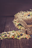 Mixed legumes and cereals Stock Photography