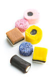 Mixed liquorice candies Royalty Free Stock Photography