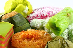 Mixed Malay Cake. Kuih sweet Stock Photography