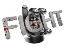 Mixed martial art award concept Stock Image