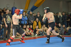 Mixed Martial Arts in Dnipropetrovsk Stock Image