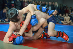 Mixed Martial Arts in Dnipropetrovsk Royalty Free Stock Image