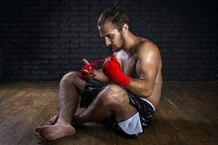 Mixed Martial Arts Fighter Royalty Free Stock Images
