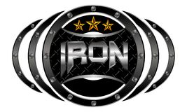 Mixed Martial Arts Letter Iron Stock Image