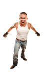 Mixed Martial Arts Man Royalty Free Stock Photos