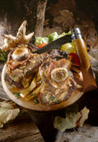 Mixed meat platter Royalty Free Stock Photos