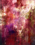 Mixed media artwork. Abstract painting - mixed media grunge Royalty Free Stock Photography