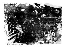 Mixed media grunge background vector illustration