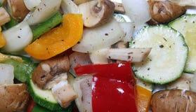 Mixed Mediterranean Vegetables royalty free stock photo