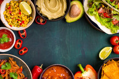 Free Mixed Mexican Food Background Royalty Free Stock Photo - 74024125