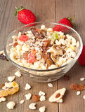 Mixed Muesli Stock Image