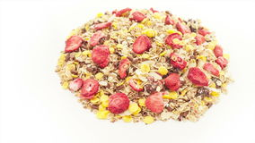 Mixed muesli Royalty Free Stock Photos
