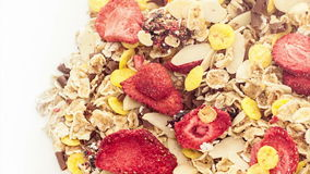 Mixed muesli Royalty Free Stock Image