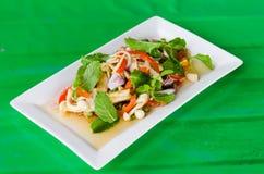 Mixed mushroom salad Royalty Free Stock Photo