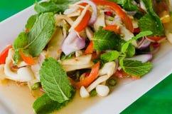 Mixed mushroom salad Royalty Free Stock Image