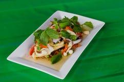 Mixed mushroom salad Stock Photography