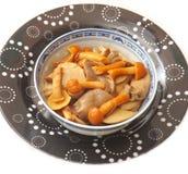Mixed mushrooms Stock Photo