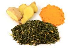 Mixed Natural Remedy Tea Royalty Free Stock Images